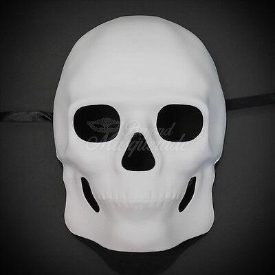 Día de Muertos Mask Blank Sugar Skull Mask Halloween Masquerade Day of the Dead](Halloween Sugar Skull Mask)