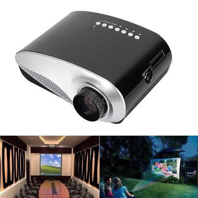 Mini Full HD 1080P LED LCD BEAMER USB/AV/SD/HDMI/TV/VGA Video Projektor Heimkino