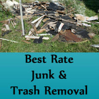 Naturally the best price for junk removal