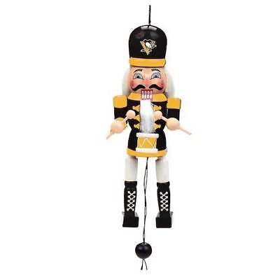 - Pittsburgh Penguins Christmas Tree Holiday Ornament Pull String Wood Nutcracker