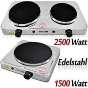 Kochplatte Edelstahl
