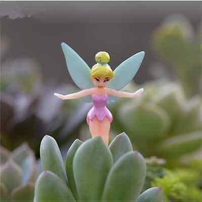 6X Fairy Miniature Figurine Garden Ornament Plant Pot Craft Dollhouse Mini Decor
