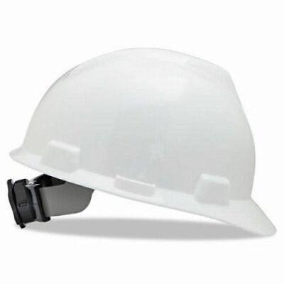 Msa V-gard Hard Hats Wfas-trac Ratchet Suspension White Msa475358