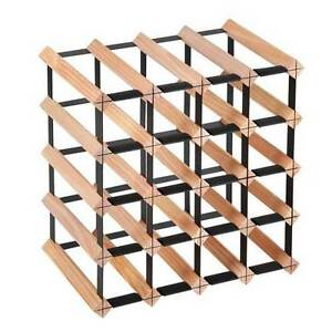 NEW FREE SHIPPING - Timber Wine Rack 20 Bottles Upper Rollands Plains Port Macquarie City Preview