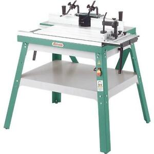 Grizzly G0528 - Sliding Router Table