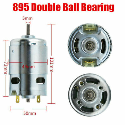 14 Kinds 120360w Large Torque High Power 895 Motor Dc 1224v 300015000rpm New