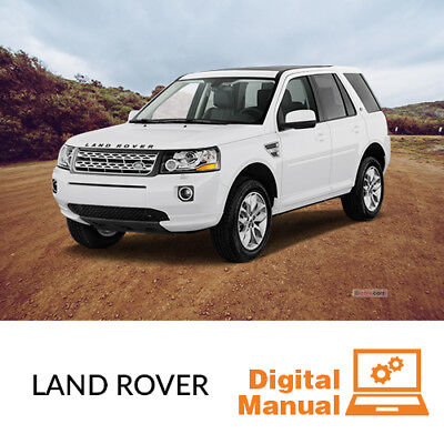 Land Rover   Service And Repair Manual 30 Day Online Access