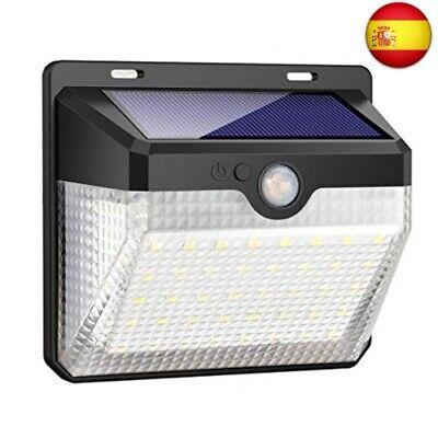 Luz Solar Jardín, Kilponen 60LED Foco Solar Exterior con Sensor de Movimiento