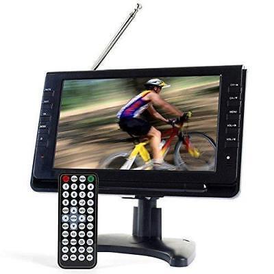"Tyler TTV702 9"" Portable Widescreen LCD TV with Detachable Antennas, USB/SD..."
