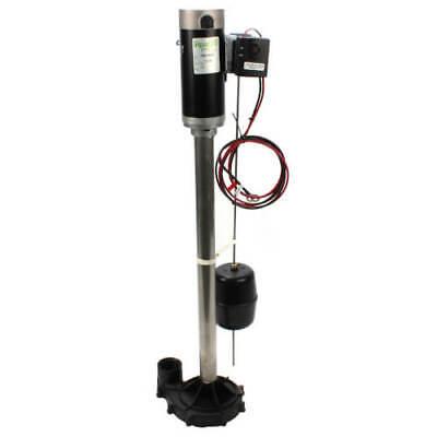 Zoeller 585 Aquanot Ii 12 Volt Back Up Sump Pump 585-0005