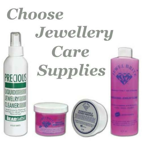 Jewel Brite Kit or Precious Metal Jewellery Liquid Cleaner S