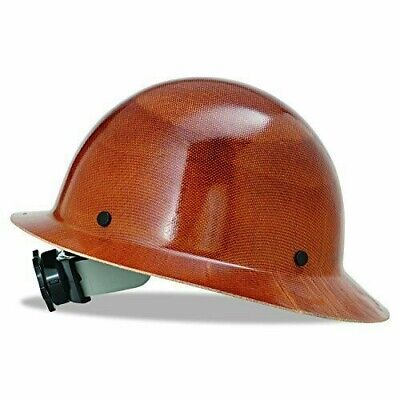 Msa 475407 Skullgard Hard Hat With Fas-trac Suspension - Natural Tan Ships Free