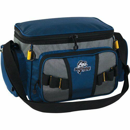 Okeechobee Fats Small Soft-Sided Tackle Bag with 2 Medium Utility Lure Box Stora