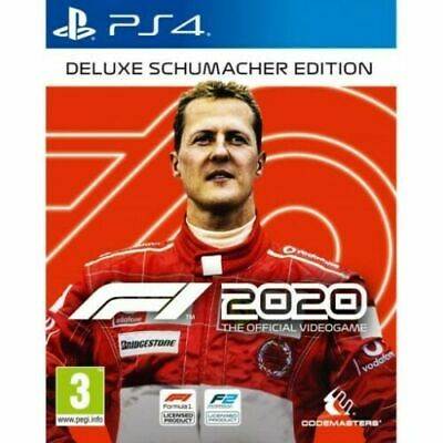 F1 2020 DELUXE SCHUMACHER EDITION PLAYSTATION 4 PREORDER WITH STEELBOOK
