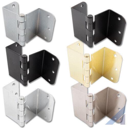 3.5 Inch Swing Clear Offset Door Hinge 5/8 Inch Radius