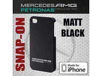 OFFICIAL Mercedes AMG Petronas iPhone 4/4S Snap-on Slim Case Shell MATT BLACK JOB LOT OVER 700 case