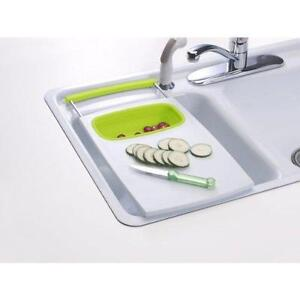 Prepworks by Progressive Over-the-Sink Cutting Board New