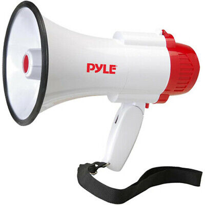 Pyle Pmp35r Megaphone With Siren And Voice Recorder 30 Watt