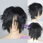 Cosplay Black Short Wigs & Hairpieces