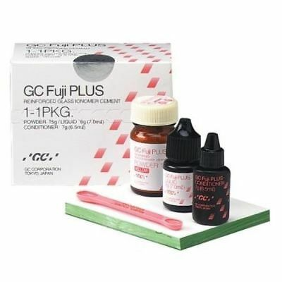 Dental Gc Fuji Plus Resin Modified Cement 1-1 Pack Conditioner