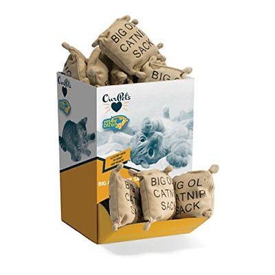 OurPets 100-Percent Catnip Filled Sack Bulk Bin Cat Toy