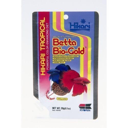 Hikari betta bio gold ebay for Betta fish food walmart