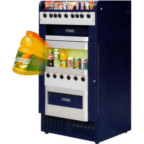 vending machine servicing