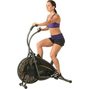 Stamina Exercise Bike Stationary Upright Fitness Bicycle Air Resistance Cycling
