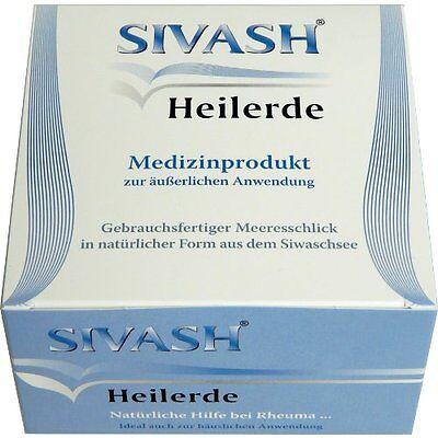 SIVASH Heilerde Heilschlamm 1 Kg