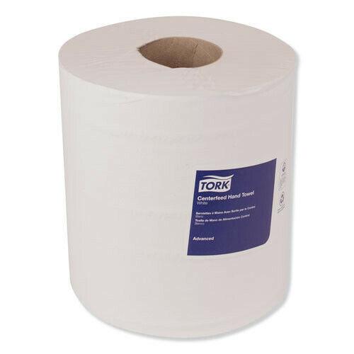 Tork 120133 1000 SHT/RL, 6 RL/CR Adv 1-Ply Centerfeed Hand Towels - WHT New