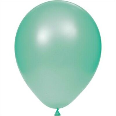 Fresh Mint Green 12-inch Latex Balloons 15 Pack Green Party Supplies Decorations - Mint Party Supplies