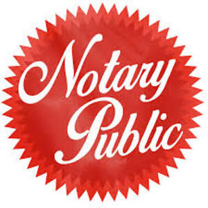 NOTARY PUBLIC/COMMISSIONER FOR OATHS