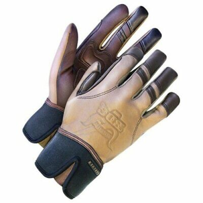 Bob Dale 20-1-10745-L Ranchers Glove, Leather with Gel Pack Inserts, Large, Tan - Glove Tan Large Pack