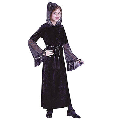 Spider Countess Child Halloween Costume (SILVER SPIDER WEB COUNTESS HALLOWEEN COSTUME ~ Party Supplies Dress Up)