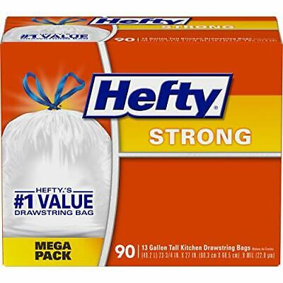 Hefty Strong Tall Kitchen Trash Bags - 13 Gallon 90 Count