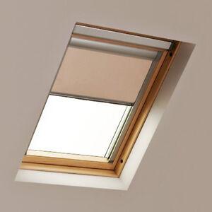 BLACKOUT ROLLER ROOF BLINDS FOR VELUX®  WINDOWS WHITE CREAM COCOA NAVY BLACK