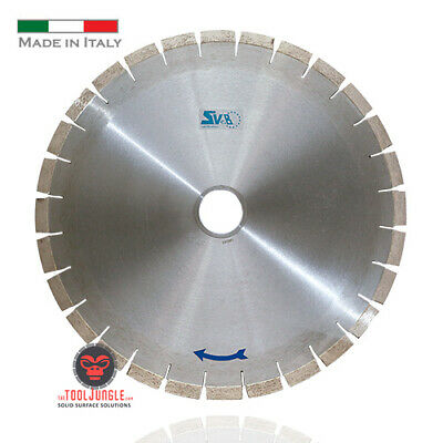 14 Diamond Bridge Saw Blade Quartz Quartzite Granite Silent Core Made In Italy