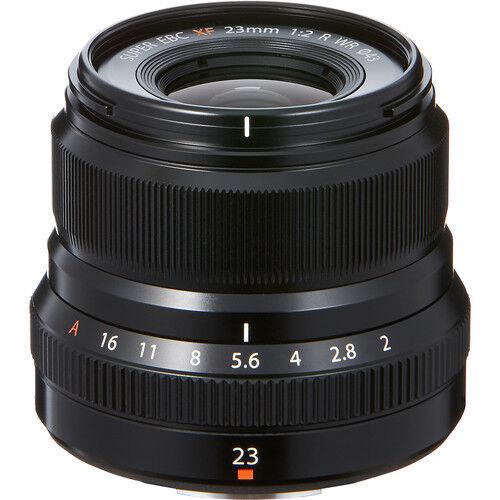 Fujifilm Fujinon XF23mmF2 R WR Wide-angle Lens for Fujifilm X-Mount System Cameras Black 16523169