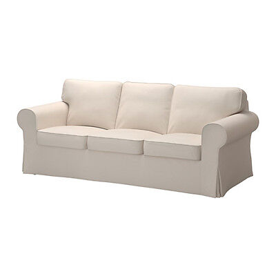 Ikea Slipcover Lofallet Beige Ektorp Sofa Cover New  Sofa Not Included