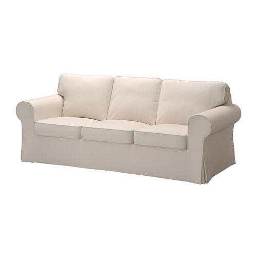 Ikea Slipcover Lofallet Beige Ektorp Sofa Cover New