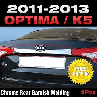 Chrome Rear Point Trunk Garnish Molding  For KIA 2011-2013 Optima / K5