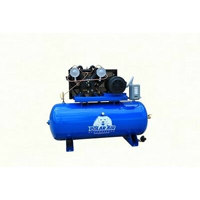 10 Hp V4 120 Gallon Horizontal Air Compressor