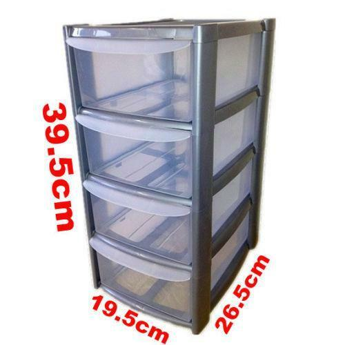 plastic drawer organizer mini drawers ebay 28910