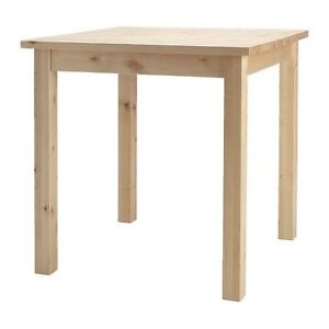 Solid Birch Wood Table/Desk