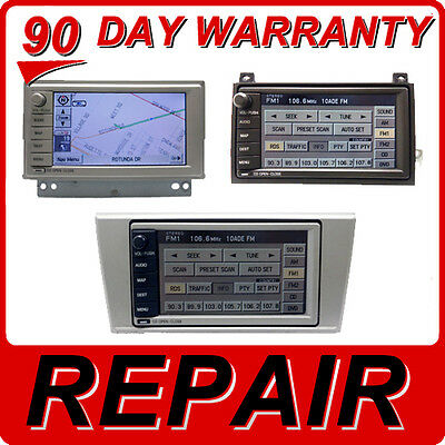 REPAIR 03 04 05 06 Lincoln AVIATOR NAVIGATOR LS Town Car Navigation GPS 6 CD FIX