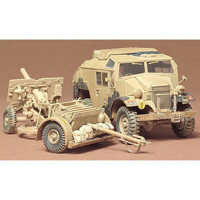 Tamiya 35044 British 25pdr.field Gun A Auad Gun Tractor 1/35 Scale