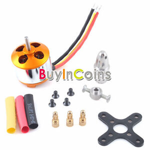New RC Hobbies 2600KV Outrunner Brushless Motor 2208-8 For Plane Helicopters #