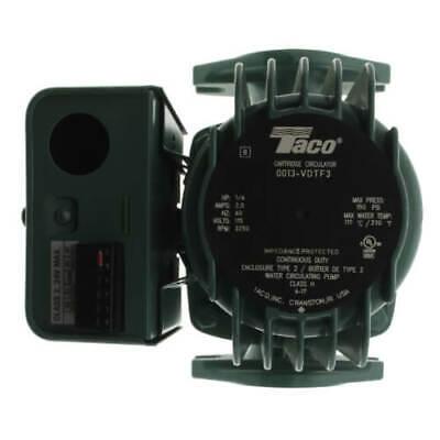 New Taco 0013-vdtf3 Variable Speed Delta-t Cartridge Circulator Pump 16 Hp