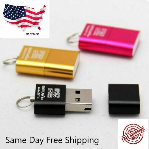 High Speed Nice Mini USB 2.0 Micro SD TF T-Flash Memory Card Reader Adapter