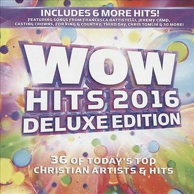 Wow Hits 2016 Deluxe Edition 2CD Christian Artists Brand New & Sealed